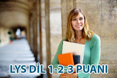 LYS DİL-1 DİL-2 DİL-3 puan türleri nedir?