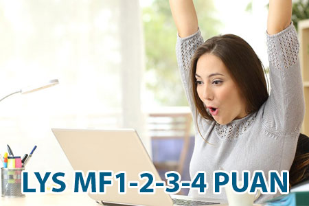 LYS MF-1 MF-2 MF-3 MF-4 puan türleri nedir?