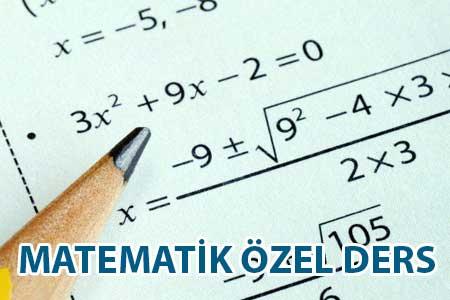 Matematik özel ders öğretmeni