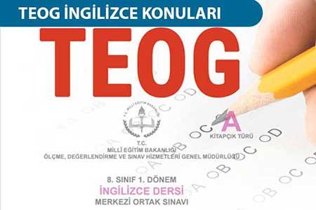 TEOG İngilizce konuları