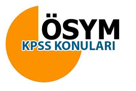 KPSS Konuları