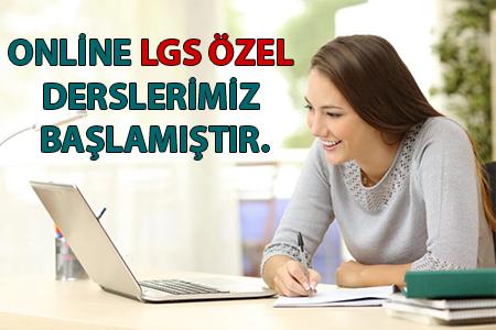 LGS online özel ders